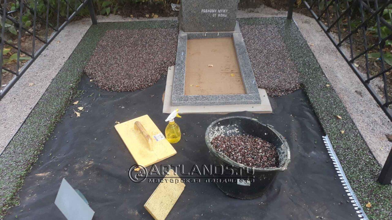 Как лучше обустроить могилу на кладбище?