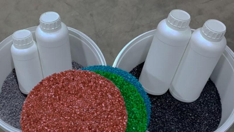 Комплект материалов для укладки каменного ковра купить
