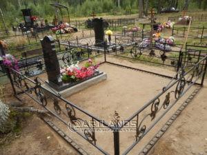 как лучше благоустроить могилу, благоустройство захоронений, цветной декоративный щебень, гравийное покрытие ArtGravel, Art Lands ФИ9
