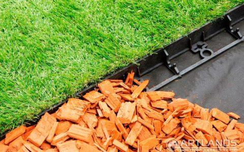 геопластборд, пластиковый бордюр для садовых дорожек и клумб, садовый пластиковый бордюр, бордюр для тратуарной плитки купить 106