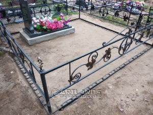 как лучше благоустроить могилу, благоустройство захоронений, цветной декоративный щебень, гравийное покрытие ArtGravel, Art Lands ФИ39