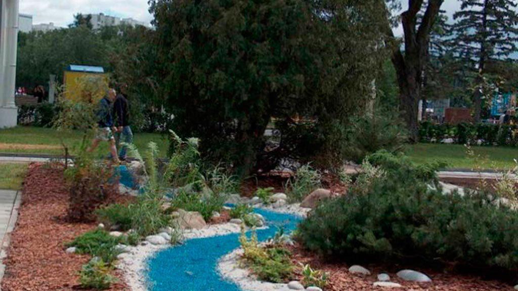 цветной декоративный щебень купить в спб, как украсить клумбу, идеи для сада и огорода своими руками фото, декоративная крошка, в 220