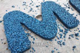 цветной декоративный щебень купить в спб, как украсить клумбу, идеи для сада и огорода своими руками фото, каменный ковер спб 123