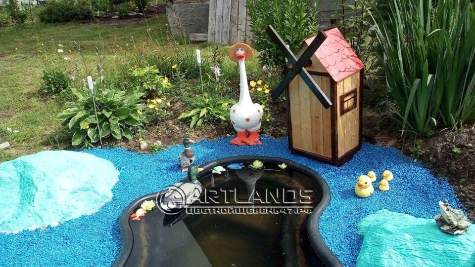цветной декоративный щебень купить в спб, как украсить клумбу, идеи для сада и огорода своими руками фото, каменный ковер спб 176