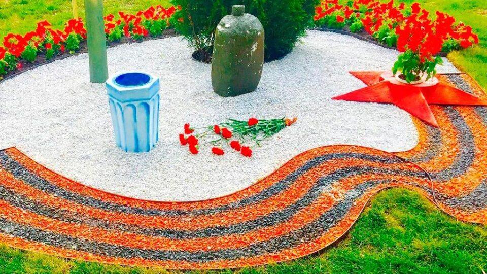 городские клумбы фото, городские цветники, цветной декоративный щебень купить в спб, как украсить клумбу, идеи для сада и огорода своими руками фото, 427