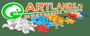 Купить декоративный цветной щебень от мастерской ландшафта Artlands.ru