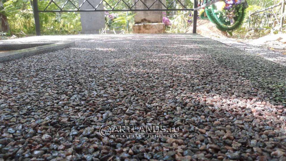 """Розовый гранит - каменный ковёр Art Gravel своими руками (комплект """"мини"""")"""