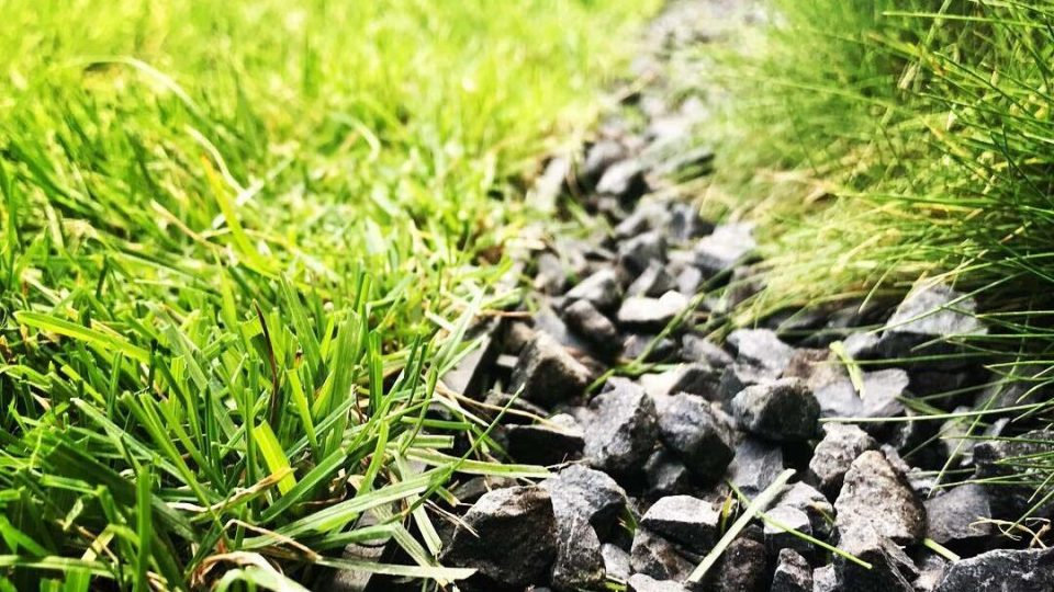 Садовый пластиковый бордюр Геоборд для клумб и садовых дорожек купить 9