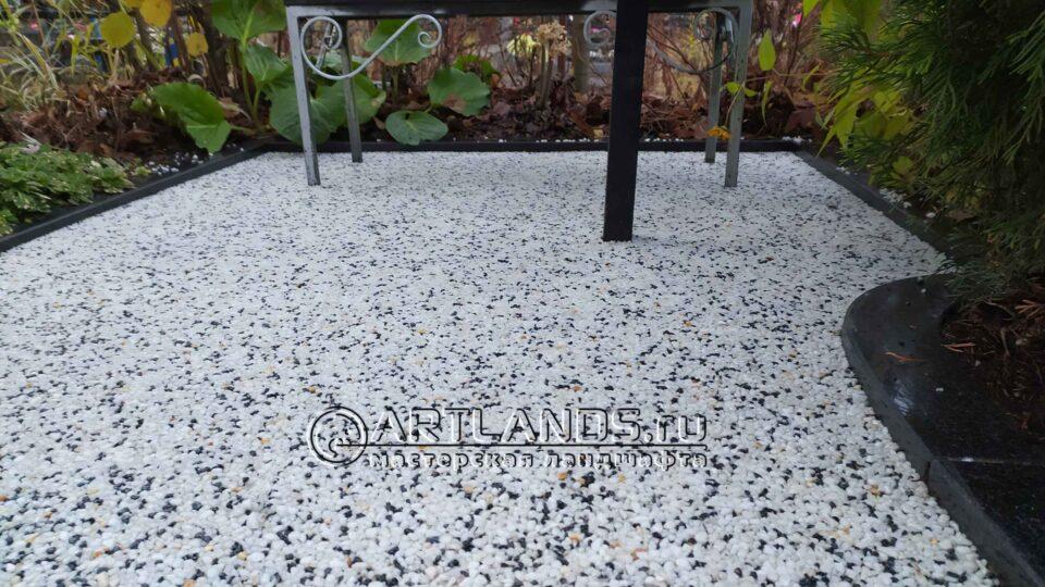Клей Art Gravel E2К для покрытия каменный ковёр
